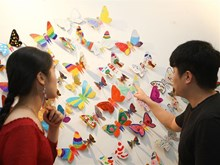 Unique exhibition by RoK artist in Hanoi