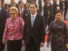 Vietnamese President sets foot in Lima for APEC Summit