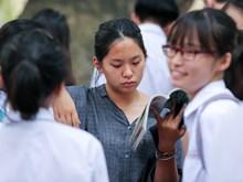 Vietnamese students take National High School Exam