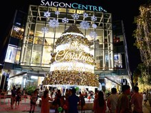 Cities' streets sparkling ahead of Christmas