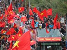 U23 Vietnam return home as heroes