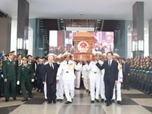 Memorial, burial services held for former PM Phan Van Khai