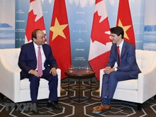 Vietnamese, Canadian PMs hold talks in Quebec