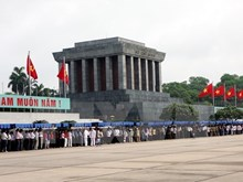 President Ho Chi Minh Mausoleum reopens from August 16