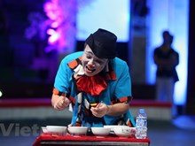 Fairy circus shows for disadvantaged kids