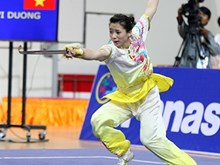 Wushu brings Vietnam one silver, one bronze