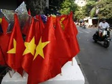 Hanoi's flag making village Tu Van