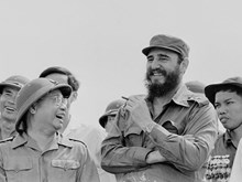 Fidel Castro in South Vietnam liberated area