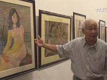 Art works recalls beautiful memories of old Hanoi