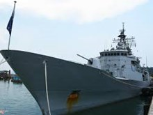 New Zealand naval ship visits Vietnam