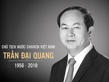 President Tran Dai Quang remembered in his homeland