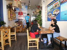 Cafe brings Truong Sa closer to mainlanders