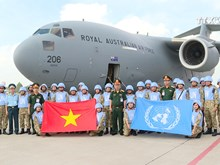 Second batch of Vietnamese peacekeepers go to South Sudan