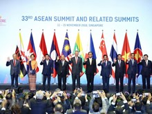 Opening day of 33rd ASEAN Summit