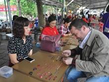 Luc Yen gemstone market