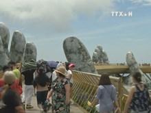 Da Nang's Golden Bridge picked as most visited destination