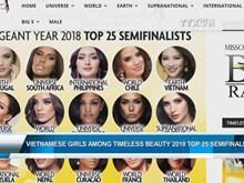 Vietnamese girls among Timeless Beauty Top 25 semifinalists