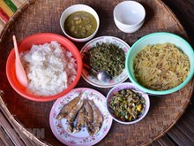 Ede ethnic people's traditional Tet dish