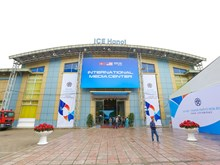 Int'l media centre ready for summit