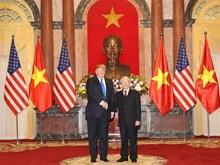 Photos of US President's activities in Vietnam