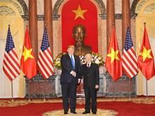 Photos of US President's activities in Vietnam