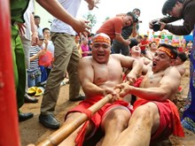Sitting tug-of-war receives UNESCO's recognition