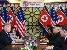 Trump, Kim dive into nuclear talks