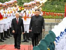 DPRK Chairman begins official visit to Vietnam