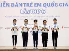 Sixth national children's forum opens in Hanoi