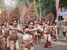 Parade promotes traditional culture in Thailand
