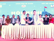 Ha Giang promotes tourism in central region
