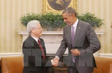 Party chief's US visit opens up new chapter in Vietnam-US ties