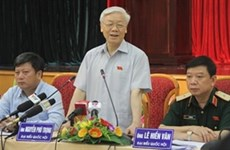 Party chief meets Hanoi constituents