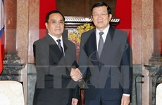 President vows to continue supporting Laos