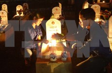 Candle vigil held to commemorate fallen soldiers nationwide