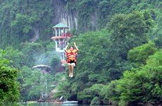 Record set for Vietnam's longest zip-line system