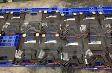 Large amount of weapons confiscated at HCM City airport