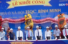 Mekong Delta's largest-ever social housing work breaks ground