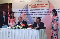 Vietnam, New Zealand step up education cooperation