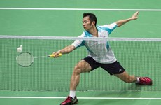 Top local players compete at world badminton competition