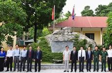 Hoa Binh preserves Vietnam-Laos friendship relic site