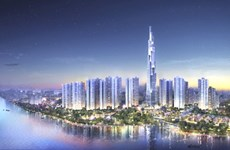 UK firms start work on Vietnam's tallest building