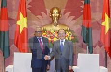 Chief legislator welcomes Bangladeshi President