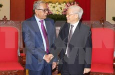 Party chief receives Bangladeshi President