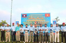 Vietnam People's Police Force traditional day marked in Laos