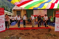 Prudential Vietnam builds kindergarten in Ha Giang