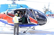 Uber to offer sky-high helicopter rides in Da Nang