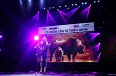 Concert protests rhino horn use