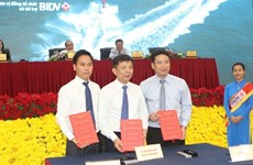 BIDV funds projects in Quang Binh