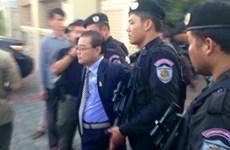 Cambodia's opposition senator arrested for treason